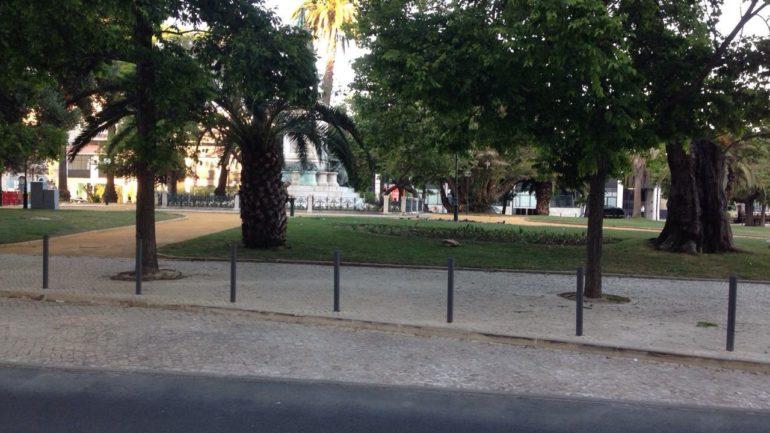 Mercado da Ribeira C.M.Lisboa - Pavimento Poroso